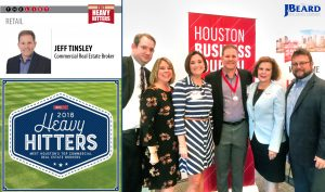 The J. Beard Real Estate Team Supports their own Heavy Hitter at the 2018 HBJ Reception