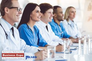 The J. Beard Real Estate Company Sponsors the Harris County Medical Society Fall Business Expo at NRG Center